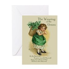 Wearing of the Green Greeting Card