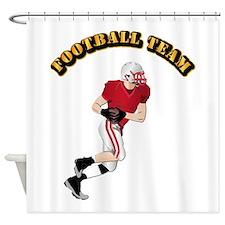 Sports - Football Team Shower Curtain