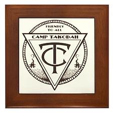 YMCA Camp Takodah Framed Tile