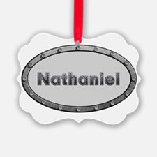 Nathaniel Metal Oval Ornament