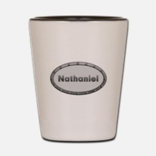 Nathaniel Metal Oval Shot Glass