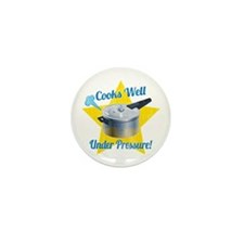 Cooks Well Mini Button (100 pack)