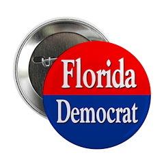 Florida Democrat Button