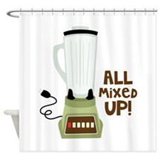 All Mixed Up! Shower Curtain