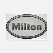 Milton Metal Oval Magnets