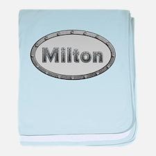 Milton Metal Oval baby blanket