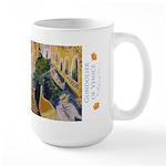 Gondolier Of Venice Large Mug