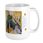 Gondolier Of Venice Large Mug