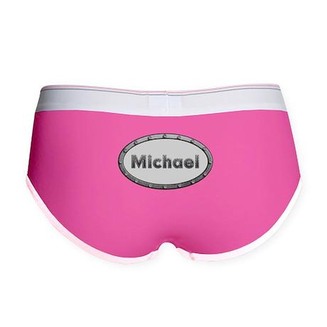 Michael Metal Oval Women's Boy Brief