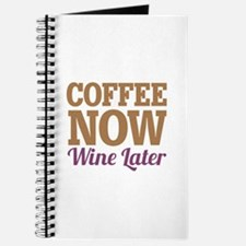 Coffee Now Wine Later Journal