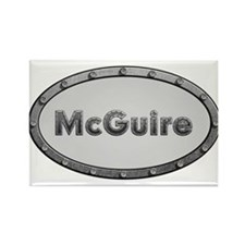 McGuire Metal Oval Magnets