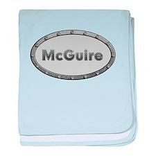 McGuire Metal Oval baby blanket