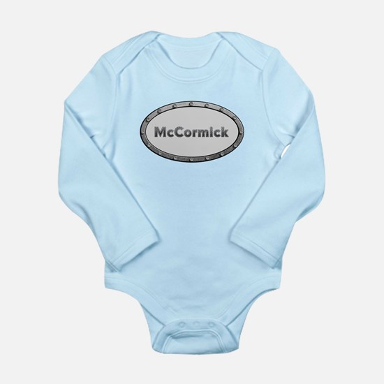 McCormick Metal Oval Body Suit
