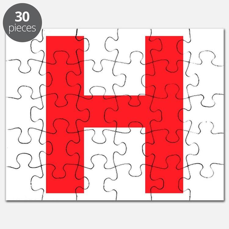 Letter H Puzzles Letter H Jigsaw Puzzle Templates