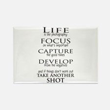 Life is like photography Magnets
