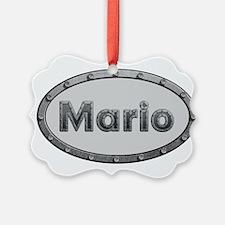 Mario Metal Oval Ornament