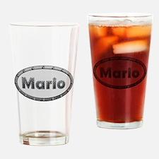 Mario Metal Oval Drinking Glass