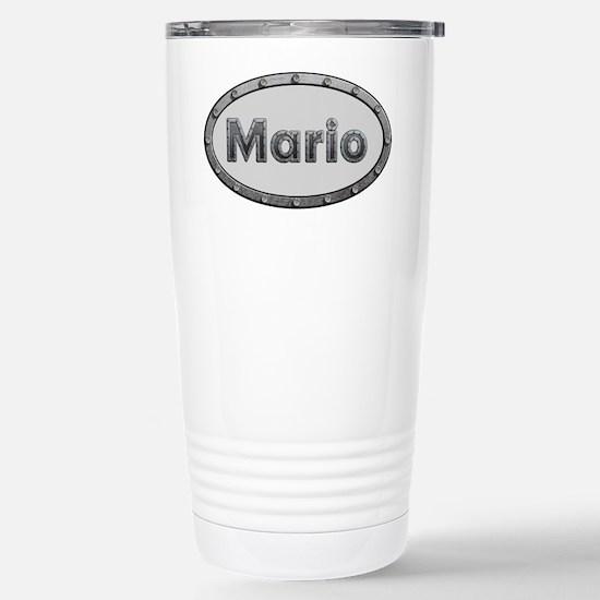 Mario Metal Oval Travel Mug