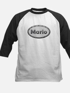 Mario Metal Oval Baseball Jersey