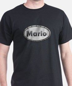 Mario Metal Oval T-Shirt