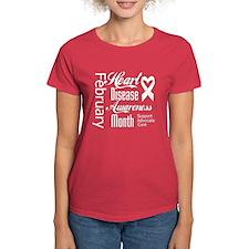 Support Heart Disease Awareness Month T-Shirt