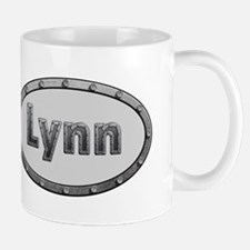 Lynn Metal Oval Mugs