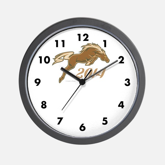 Year of the Horse Wall Clock