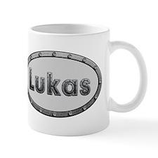 Lukas Metal Oval Mugs