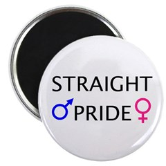 Magnet: Straight Pride