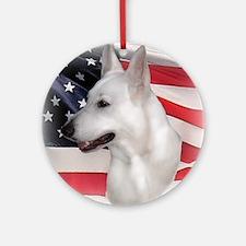 American Shepherd Ornament (Round)