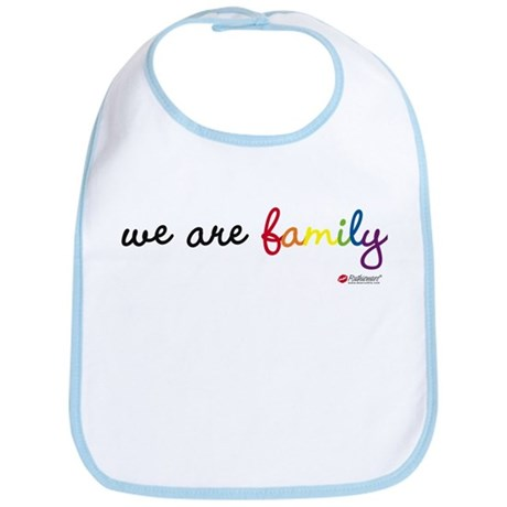 We Are Family Bib