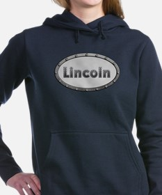 Lincoln Metal Oval Hooded Sweatshirt