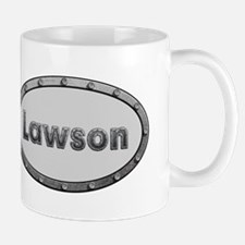 Lawson Metal Oval Mugs