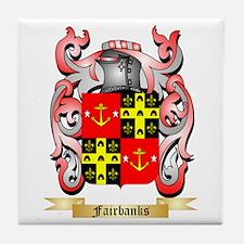 Fairbanks Tile Coaster