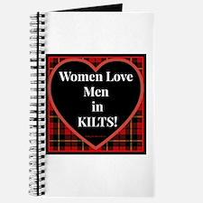 Women Love Men In Kilts Journal