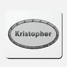 Kristopher Metal Oval Mousepad