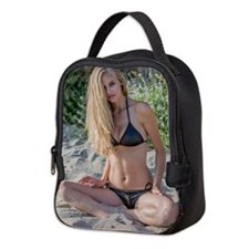 malibu girl Neoprene Lunch Bag
