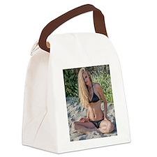 malibu girl Canvas Lunch Bag
