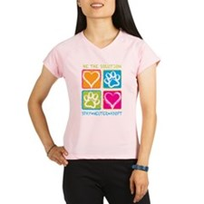 Be The Solution Squares Performance Dry T-Shirt