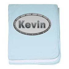 Kevin Metal Oval baby blanket