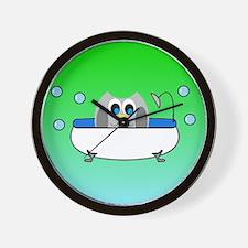 Cute His hers Wall Clock