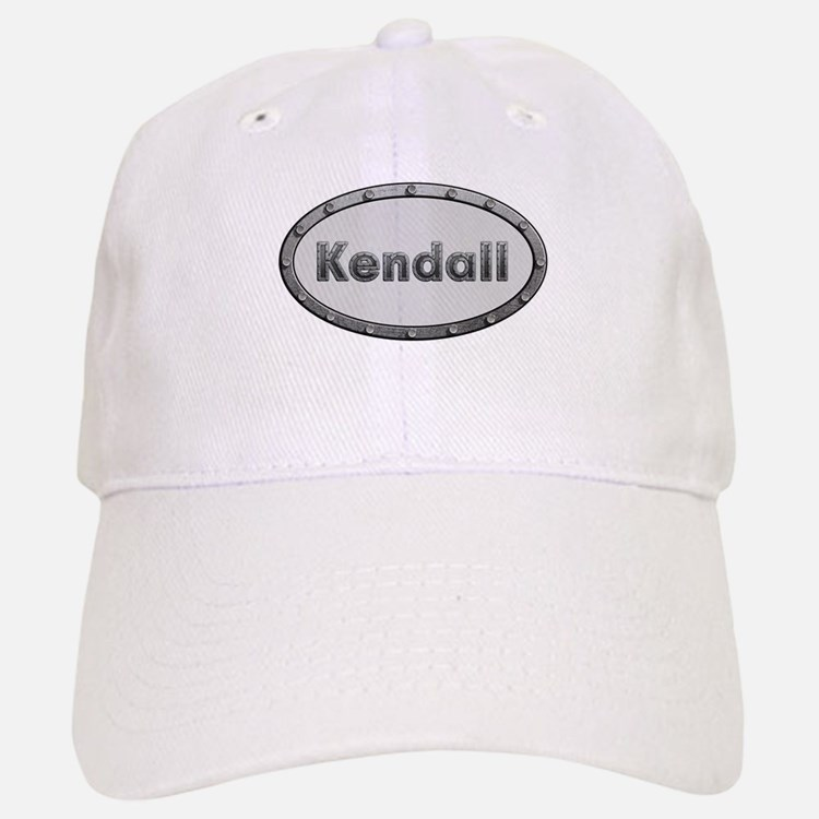 Kendall Metal Oval Baseball Baseball Baseball Cap