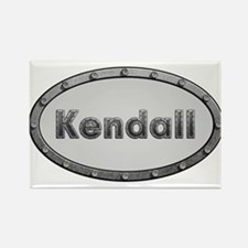 Kendall Metal Oval Magnets