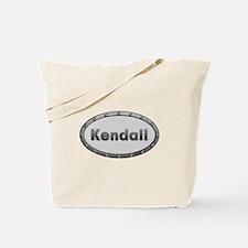 Kendall Metal Oval Tote Bag