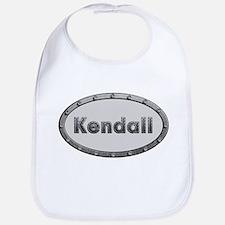 Kendall Metal Oval Bib