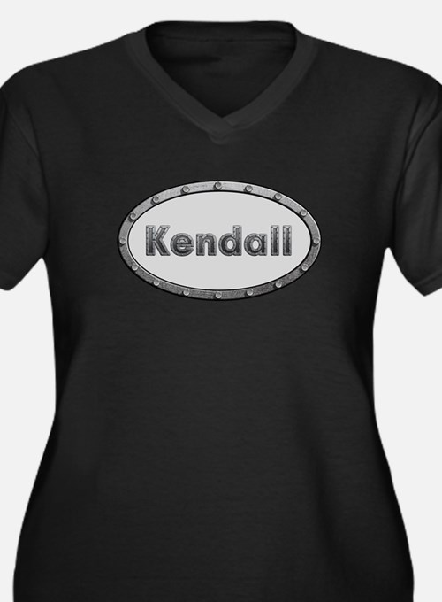 Kendall Metal Oval Plus Size T-Shirt
