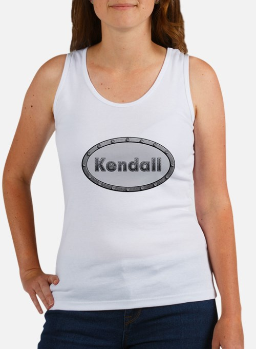 Kendall Metal Oval Tank Top