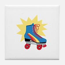 Retro Roller Skate Tile Coaster