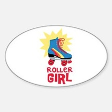 Roller Girl Decal