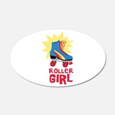 Roller Girl Wall Decal